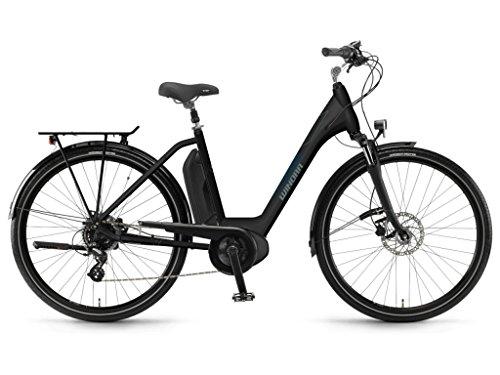 Winora Sima 7 400 Pedelec E-Bike Trekking Fahrrad schwarz 2019: Größe: 46cm