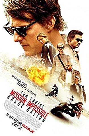 Mission: Impossible - Rogue Nation Original Movie Poster (Tom Cruise,