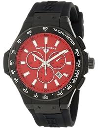 Swiss Legend Men's Quartz Watch with Black Rubber Strap 40051-BB-05-R