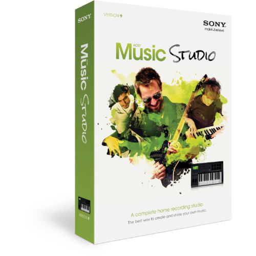 SONY ACID Music Studio 9 (Musik Software Komponieren)
