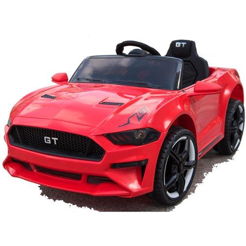GT Raptor Cabriolet Elektro Kinderauto Ride-On 12V - 2X Motoren (Rot)