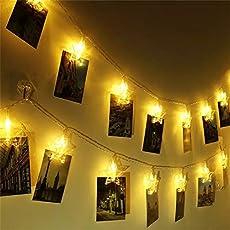 Satyam Kraft String Window Curtain Star Lights with 2 Flashing Modes Decoration