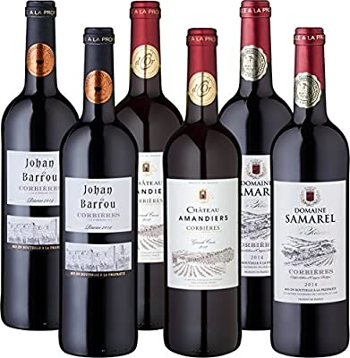 Wein Probierpaket Das Beste aus Corbières (6 x 0.75 l)
