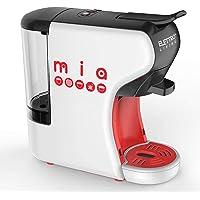 Elettro Living Mia- Macchina Espresso Multicompatibile, Mia per Tutti i Tipi di caffè, Bianco-Rosso-Nero, 31,5x14x29,5…