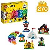 LEGO Classic Mattoncini e Case, Set di Costruzioni con Infinite Possibilità di Gioco, per Costruire Sei Edifici Differenti, 4+ Anni, 11008