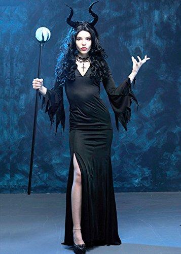 Kostüm Slinky - Damen Slinky Böse Königin Maleficent Style Kostüm S/M (UK 8-10)