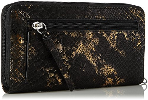Tamaris - Debra Big Zip Around Wallet, Portafogli Donna Oro (Bronce)