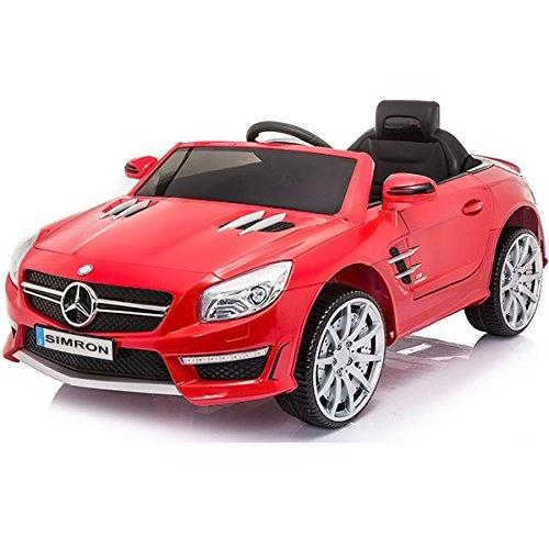 RC Auto kaufen Kinderauto Bild 2: SIMRON - Mercedes-Benz SL-63 AMG Cabriolet Ride-On 12V Elektro Kinderauto Kinderfahrzeug Kinder Elektroauto*