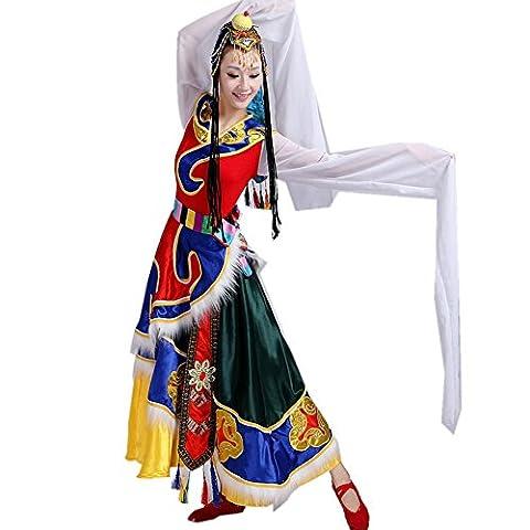 Espagne Costumes Images - Byjia Costumes De Femmes Ethniques Mongoles Tibétaines