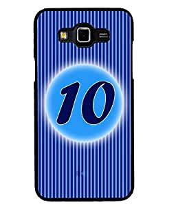 Fuson 2D Printed Numerology Designer back case cover for Samsung Galaxy Grand 3 - D4228