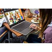 HP 14-DK Laptop AMD A4-9125 4GB RAM 64GB eMMC Hard Drive 14-Inch HD WLED Microsoft Office 365 Personal