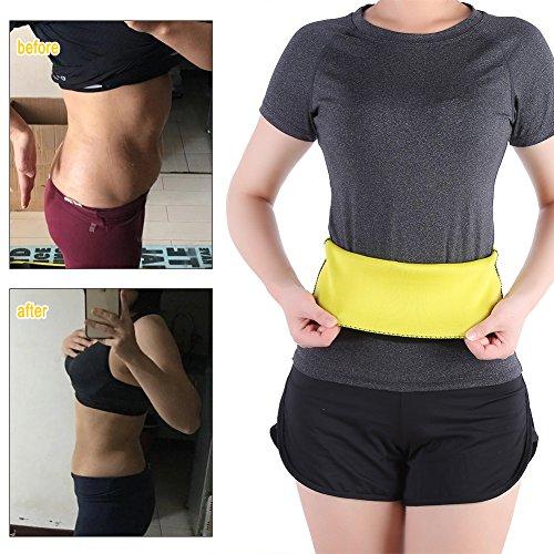 bruciatore di cellulite grasso fitness dimagrante cintura vita shaper del corpo