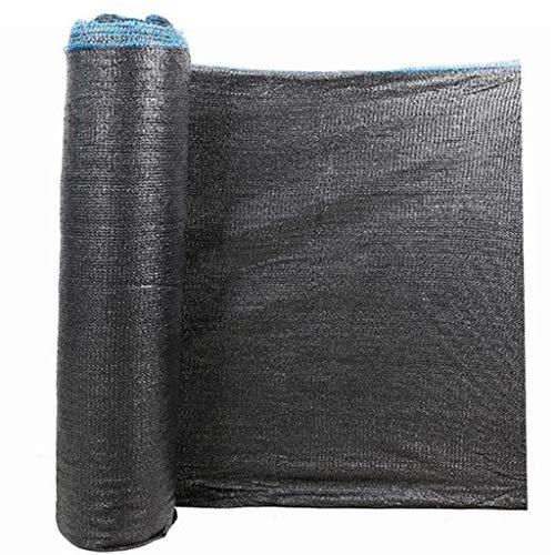 Lixin Abat-jour d'épaississement extérieur en filet de polyéthylène haute densité (Couleur : NOIR, taille : 6Mx50M)