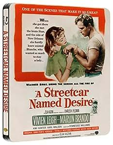 A Streetcar Named Desire Steelbook (Blu-ray + UV Copy) [1951] [Region Free]