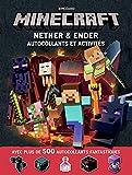 Minecraft:Nether & Ender: Autocollants et activités