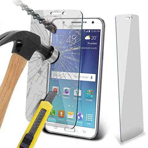 Hülle für Samsung Galaxy J7 / Samsung Galaxy J7 SM-J700F Case Universal Car Phone Halter Halterung Cradle-Dashboard & Windschutz für iPhone yi -Tronixs SP + Glass (3 Pack)