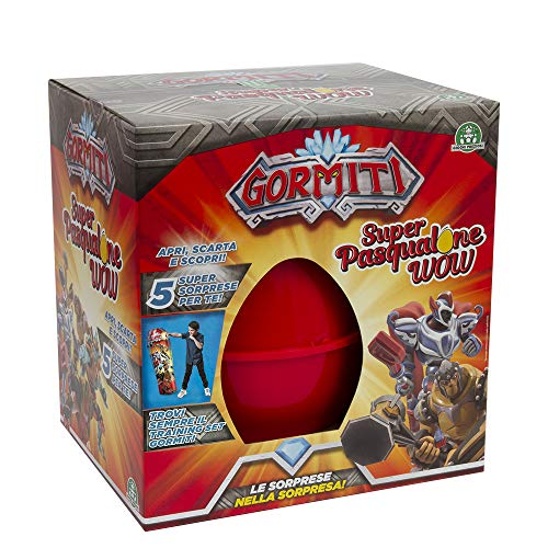 Giochi Preziosi Easter 2019 Gormiti, Egg Shaped Container with Many Surprises