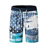 SANFASHION Herren Männer Badehose in vielen Farben   Badeshort   Bermuda Shorts   Beachshort   Slim Fit   Schwimmhose   Badehosen   schnelltrocknend   Jungen Badeshort