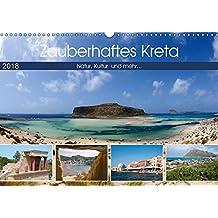Zauberhaftes Kreta (Wandkalender 2018 DIN A3 quer): Natur, Kultur und mehr die schönsten Ecken Kretas (Monatskalender, 14 Seiten) (CALVENDO Orte) [Kalender] [Feb 07, 2017] Scholz, Frauke