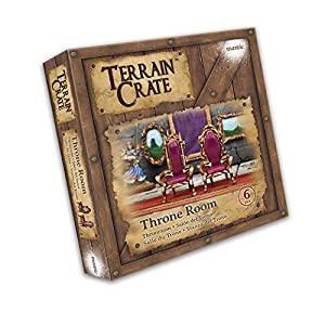 Mantic Games MGTC119 TerrainCrate: Throne Room, Multi vídeo Juego