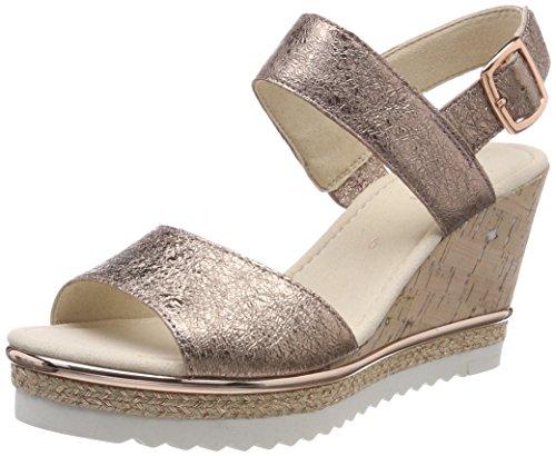 Gabor Shoes Damen Basic Riemchensandalen, Mehrfarbig (ENGL.Rose), 38 EU
