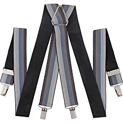 Orosilber Multi Color Mens Suspender