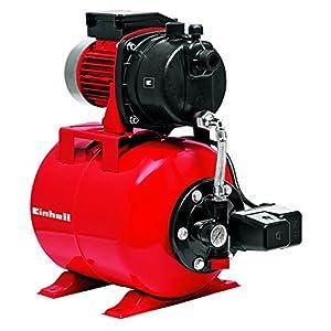 Einhell 4173193 Bomba de agua + mangera de aspiracion 7 m (600 W, 3600 l/h) rojo y negro, 650 W