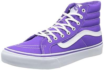 Vans U SK8-HI SLIM NEON PURPLE VQG390J, Unisex-Erwachsene Sneaker, Violett (neon purple), EU 36 (US 4.5)