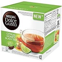 Nescafè(R) Los tés y cápsulas de hierbas originales Dolce Gusto Citrus Honey Black