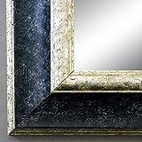 Online Galerie Bingold Spiegel Wandspiegel Badspiegel - Acta Schwarz Silber 6,7 - handgefertigt - 200 Größen zur Auswahl - Antik, Barock - 60 x 120 cm AM