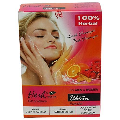 Hesh-Pulver Ubtan-Ersatz Natur Seifenspender-reinigt natürlich die Haut-Machen ein Bel Glanz zu Ihrer Haut - Alba-peeling