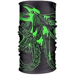 Bandana Fractal Monster verde