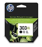 HP T6N04AE 303XL High Yield Original Ink Cartridge, Black, Pack of 1