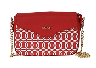 Sugarush Women's Sling Bag (Red) (SR/DAHSL104/LYN2016)
