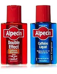 Dr Wolff Alpecin/Double Effect Lotion + shampooing antichute de cheveux