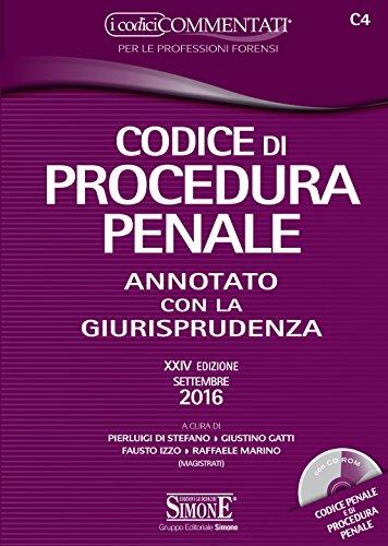 Codice di procedura penale. Annotato con la giurisprudenza. Con CD-ROM