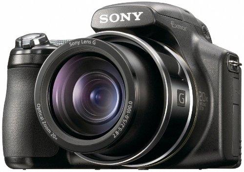 """Sony Cyber-Shot DSC-HX1 Appareil photo numérique Bridge 9,1 Mpix Zoom Optique 20x Ecran LCD 3"""" Sortie HD Noir"""