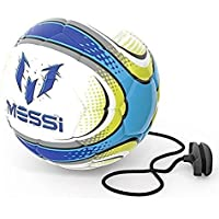 Messi Training 2 in 1 Soft Touch Training Ball - White