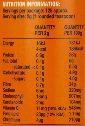 Lifestream Organic Wheat Grass Powder 250g