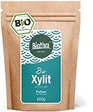 BIo Xylit (800g) - Einführungspreis - Bio-Birkenzucker (Bio-Xylitol) - Zucker-Alternative in Bio-Qualität - 50% weniger Kalorien - Diabetiker und Veganer - Abgefüllt und kontrolliert in Deutschland
