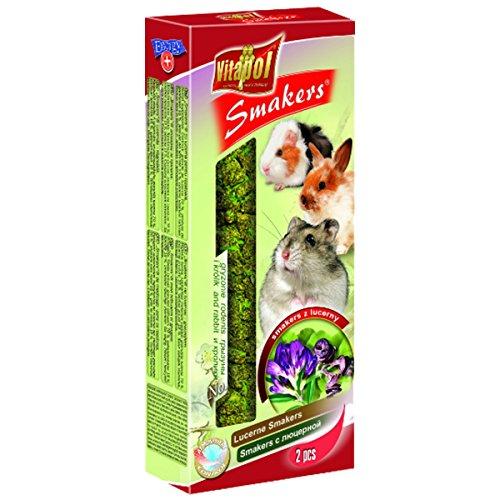 Vita Pol smakers Pistone 5Set di Luzerne per roditori e conigli