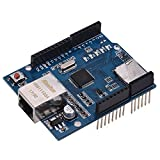 Festnight Expansion Board Ethernet Shield Compatible Board Network Expansion Card for Arduino UNO Mega2560