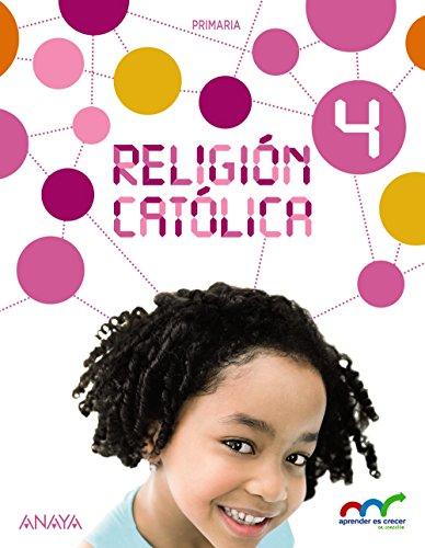 Religión Católica 4. (Aprender es crecer en conexión) - 9788467883954 por Valero Crespo Marco