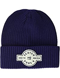 Scotch & Soda Herren Strickmütze Logo Artwork Beanie