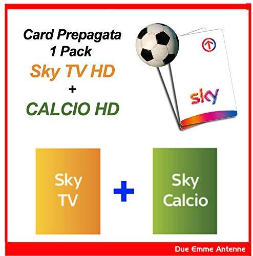 Prepagata sky hd *anonima* calcio - scad. settembre 2019