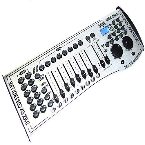 DMX 512 controller di 8 fader DMX-240A