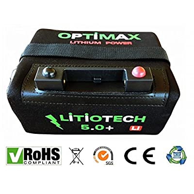Batería Litio Optimax para