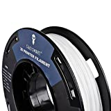 SainSmart Kleine Spule 1.75mm TPU Flexible 3D Filament 250g, Maßgenauigkeit +/- 0,05 mm, Shore 95A (White)