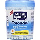 Neutro Roberts-Cotoncini Coton Camomille Extra doux douces-100 Pièces