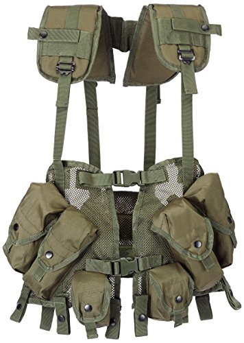 Mil-Tec Us Weste Load Bearing OLIV (Tactical Bearing Load)